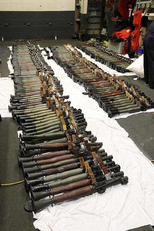 ضبط ثالث شحنة أسلحة مهربة