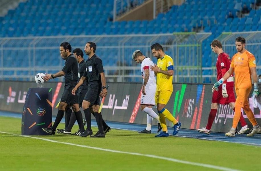 حكام مباراة النصر والشباب