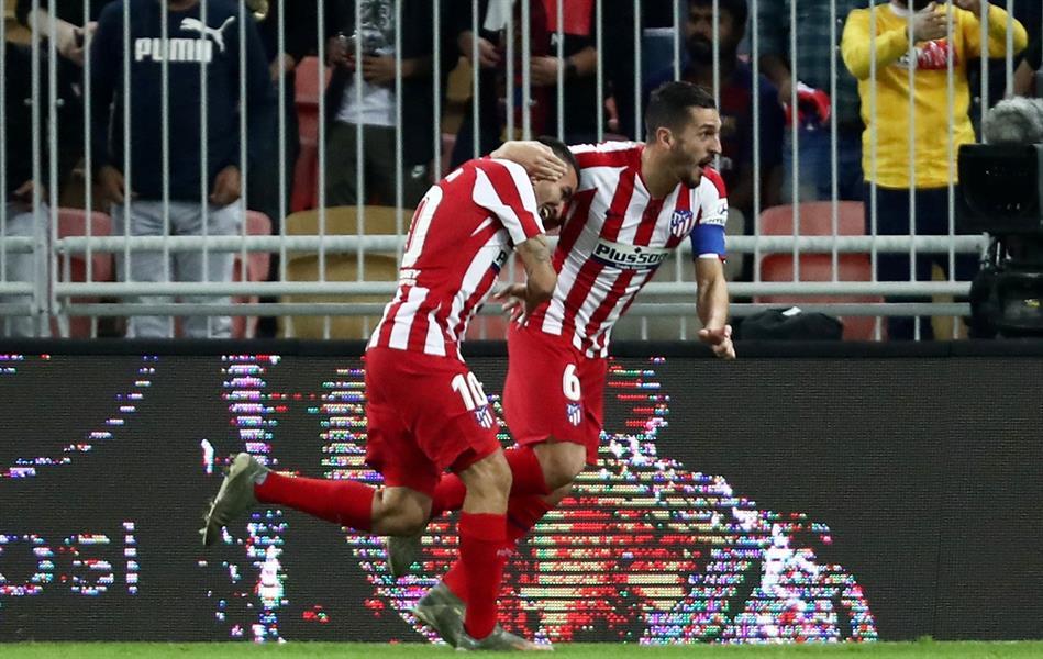 كوكي يغيب عن أتلتيكو مدريد في مواجهة ريال مدريد بنهائي كأس السوبر الإسباني