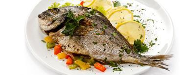 طبق سمك