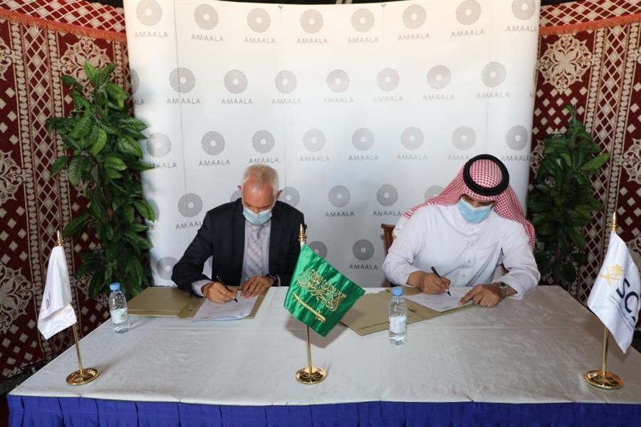 """لتدريب وتوظيف المهندسين السعوديين.. """"هيئة المهندسين"""" و""""آمالا """" يوقعان مذكرة تفاهم"""