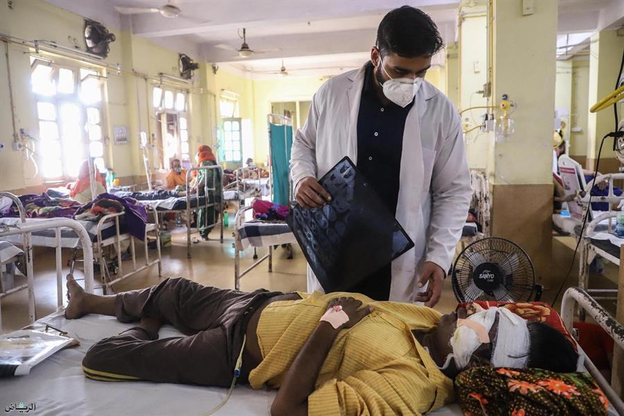 """الهند: أكثر من 45 ألف إصابة بـ""""الفطر الأسود"""" بين مرضى كورونا"""