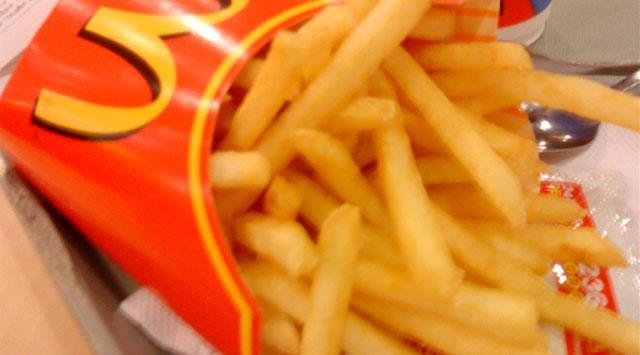 ماذا يوجد داخل بطاطا ماكدونالدز المقلية؟