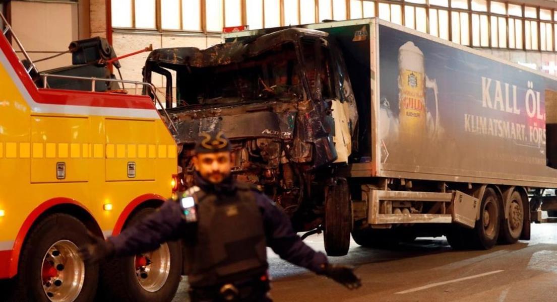 المشتبه في تنفيذه هجوم ستوكهولم طالب لجوء