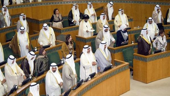 المرأة الكويتية تحت قبة البرلمان