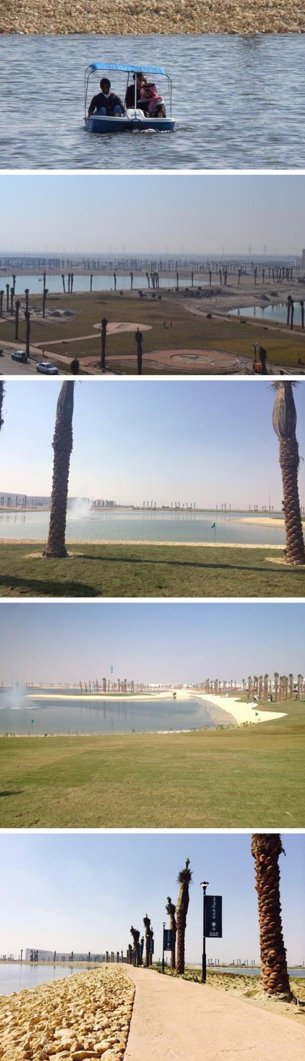 أكبر بحيرة صناعية في المملكة