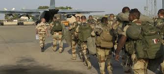 القوات الفرنسية تبدأ الانسحاب من مالي