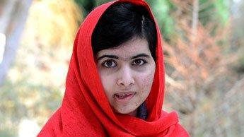 الشابة الباكستانية ملالا يوسف زاي