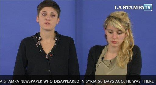 ابنتا صحافي ايطالي فقد في سوريا توجهان نداء لتلقي معلومات عنه