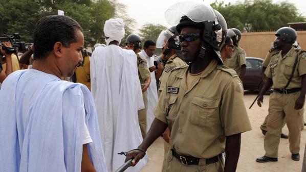 انتشرت قوات من الحرس الرئاسي في عدد من شوارع العاصمة الموريتانية نواكشوط