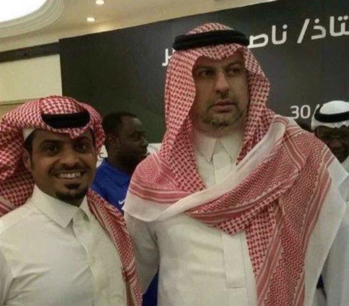 """""""آل الشيخ"""" يوجه الشكر لعبدالله بن مساعد: أنت من اكتشف العطوي.. تحية لك من القلب"""