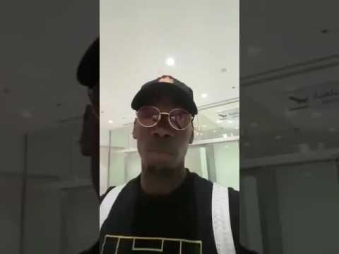 """بالفيديو.. """"بوجبا"""" يودع السعوديين ويشيد بالحفاوة التي لقيها.. ويؤكد: سأعود قريبا"""