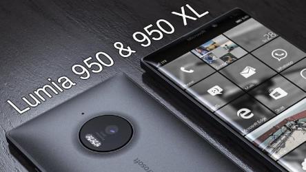 هاتفى لوميا 950 و لوميا 950 xl