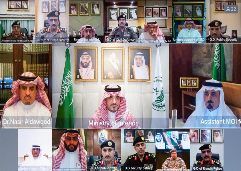 وزير الداخلية يدشن مركز العمليات الأمنية الموحدة 911 بمنطقة الرياض