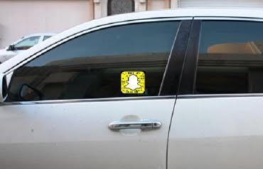 المرور: تعليق ملصق بحساب السناب على السيارة مخالفة مرورية