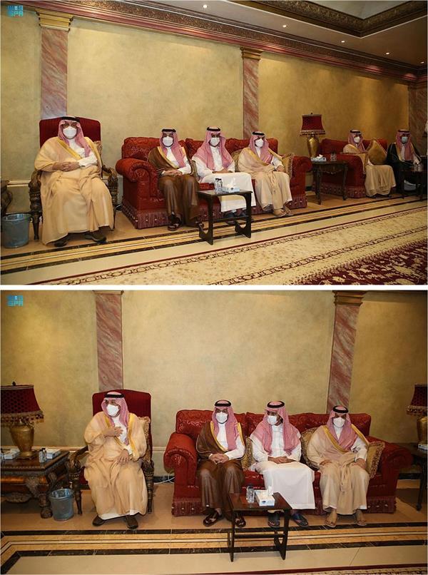أمير الرياض يعزي في وفاة المستشار الخاص والمشرف على مكتبه