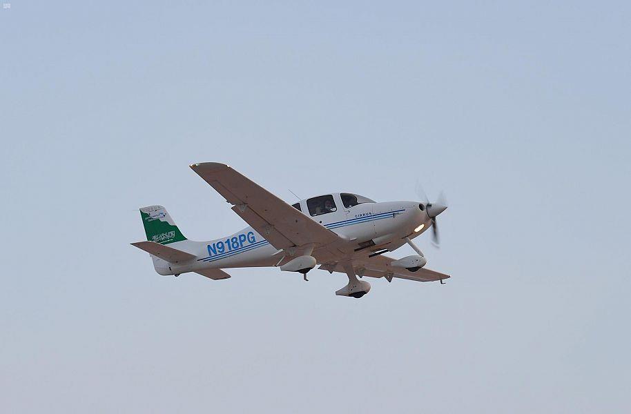 انطلاق فعالية المدينة المنورة للطيران العام والرياضي