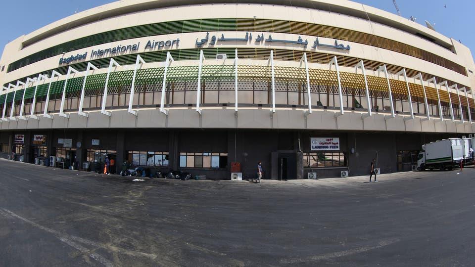 سقوط صاروخين في محيط مطار بغداد الدولي