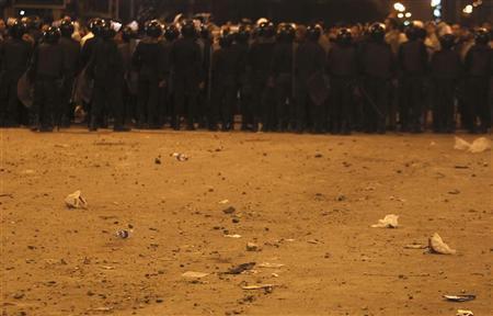 قوات الامن المصرية