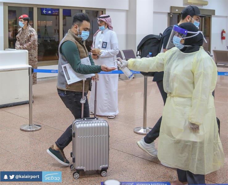 وصول رحلة تقل مواطنين قادمين من بولندا إلى جدة