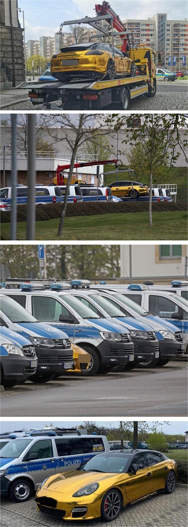 مالك سيارة بورش ممنوع من قيادتها بسبب لونها في ألمانيا
