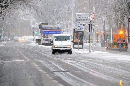الثلوج في اوروبا