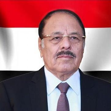نائب رئيس الجمهورية اليمنية علي محسن صالح