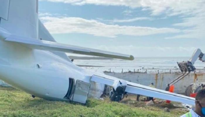 تحطم طائرة شحن كينية
