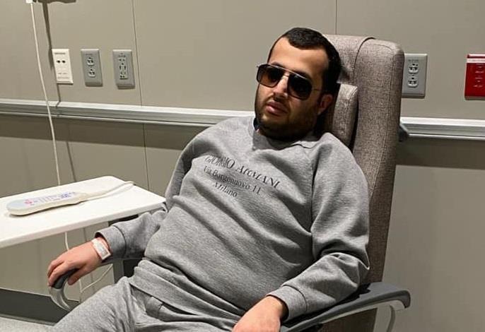 صورة جديدة لتركي آل الشيخ من المستشفى الذي يُعالج فيه