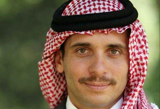 الأمير حمزة في فيديو: أنا معزول بمنزلي مع زوجتي وأطفالي