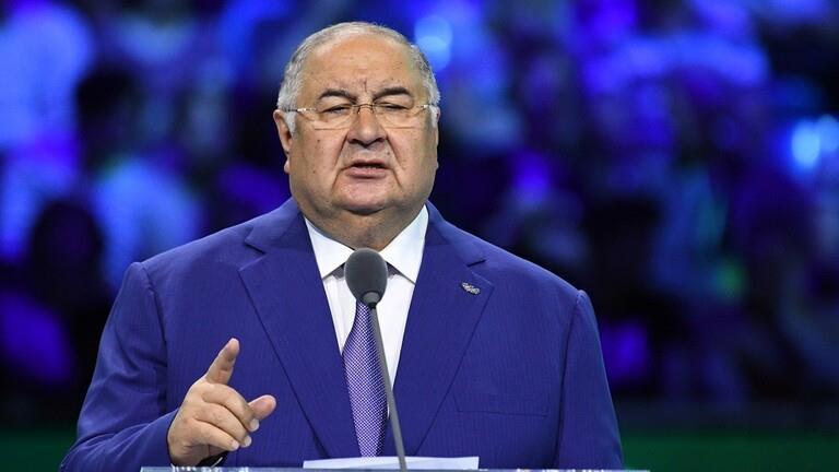الملياردير الروسي أليشير عثمانون