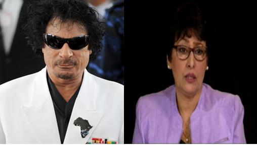 مذيعة جزائرية سابقة تروي كيف تقدم القذافي لخطبتها.. وماذا كان ردها (فيديو)
