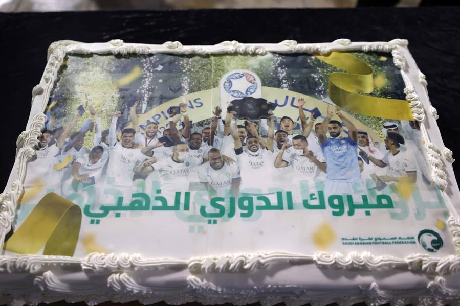اتحاد الكرة يحتفل بفريق السد القطري