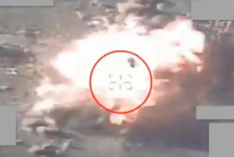 """""""التحالف"""" يدمر أهدافاً عسكرية حوثية في نهم"""