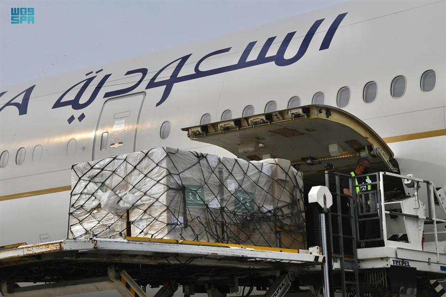 وصول أولى طلائع الجسر الجوي السعودي الإغاثي إلى #ماليزيا