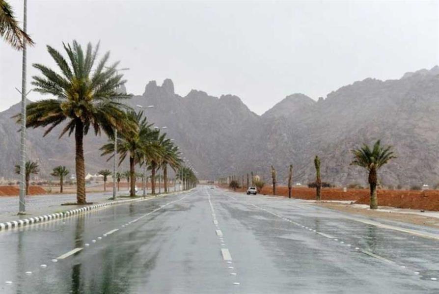 """""""الأرصاد"""": تنبيهات بأمطار رعدية في بعض المناطق وأتربة مثارة ورياح نشطة بأخرى"""