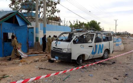 متشددو الصومال يقتلون 6 في تفجير حافلة للأمم المتحدة
