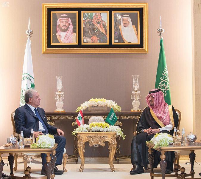 وزير الداخلية يستقبل وزير الداخلية والبلديات اللبناني