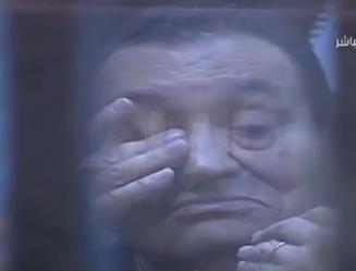 مبارك يبكي