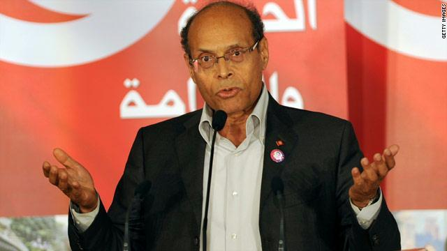 الرئيس التونسي منصف المرزوقي