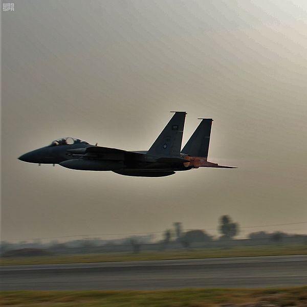 """بالصور.. بمشاركة القوات الجوية السعودية.. اختتام فعاليات تمرين """"التفوق الجوي"""" في باكستان"""