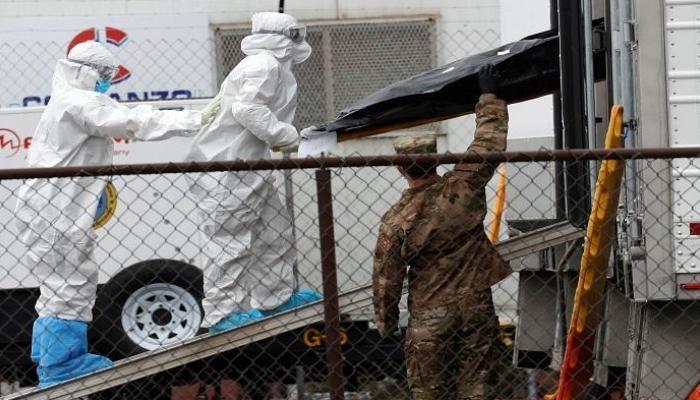 """أمريكا تسجل أكثر من 68 ألف إصابة جديدة و1,216 وفـاة جراء """"كورونا"""""""