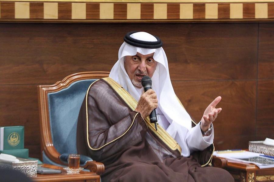 """أمير مكة يعلن عن جائزة سنوية للشعر تحمل اسم """"الأمير عبدالله الفيصل"""".. هذه قيمة الجائزة"""