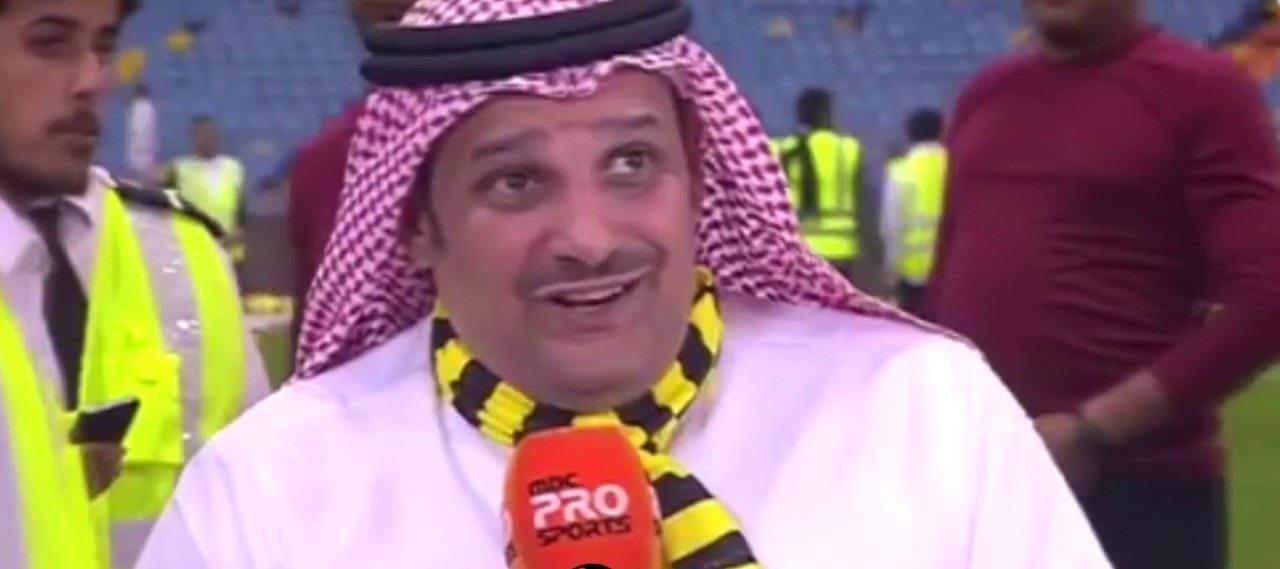 بالفيديو.. شرفي اتحادي: تنفيذاً لوعدي أقول لكهربا عروستك بانتظارك في جدة