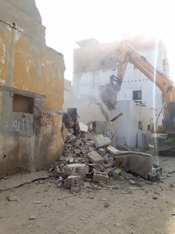 بدء إزالة 230 عقارًا آيلا للسقوط في السبيل بمحافظة جدة