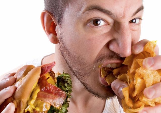 الإفراط في الأكل