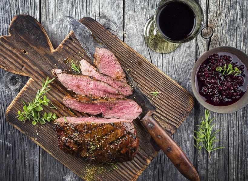 شرائح لحم البقر