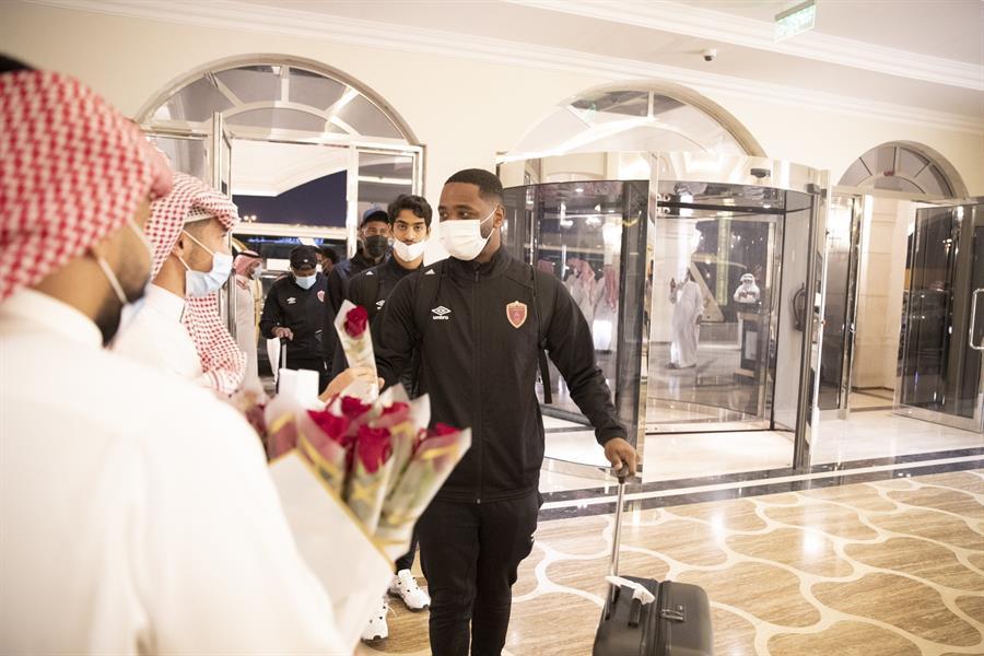 وصول بعثة الوحدة الإماراتي للمملكة