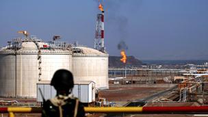 منشأة لتصدير الغاز في بلحف على خليج عدن