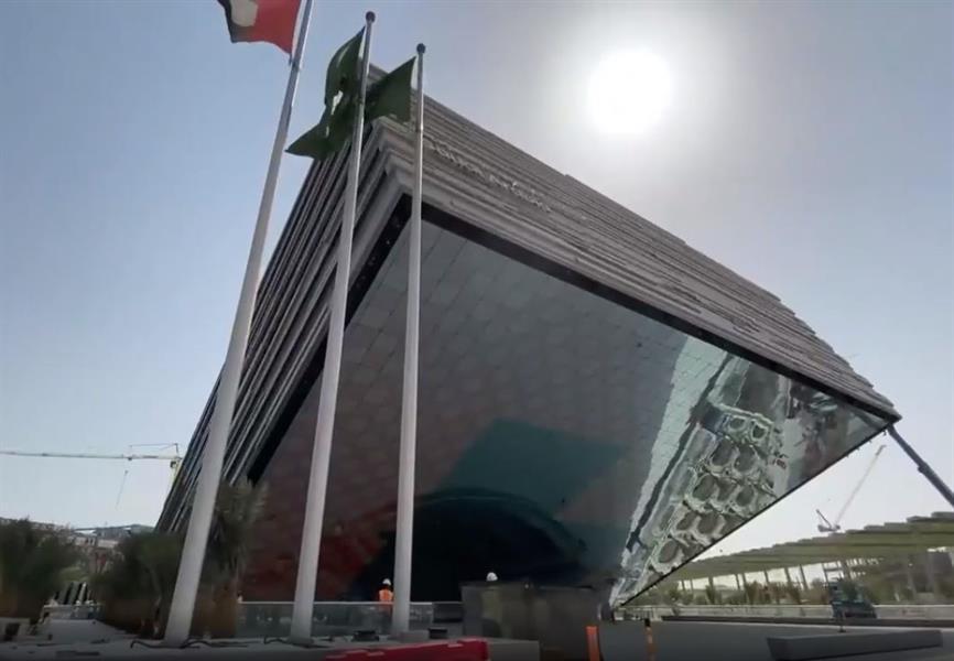 اكتمال أعمال بناء جناح المملكة في إكسبو دبي 2020